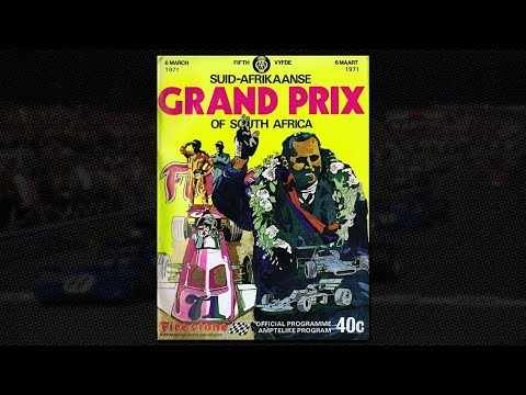 HSO 1971 F1   Round 1   Grand Prix of South Africa