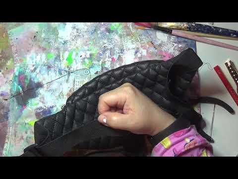 How To Fix Broken Zipper,Stuck Zipper,And Cinch In Belt on fanny Pack