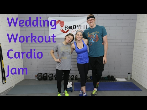 25 Minute Wedding Cardio Jam Workout for Fat Blasting and Calorie Burning