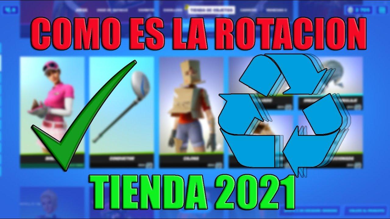 COMO SABER LA ROTACION DE LOS OBJETOS EN LA TIENDA DE FORTNITE TEMPORADA 7 CAPITULO 2   2021