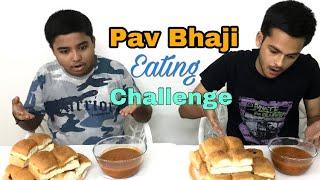 Pav Bhaji Eating Challenge l Pav Bhaji Eating Competition l Food Challenge