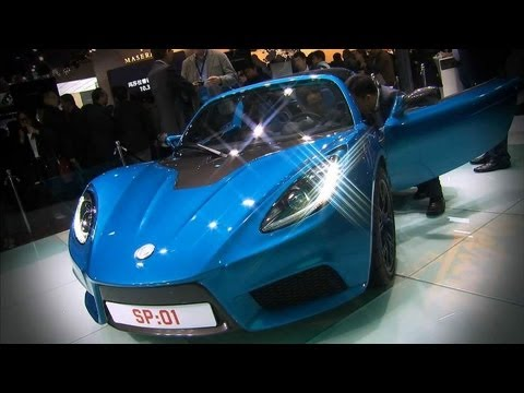 China: World's Fastest Electric Car Unveiled