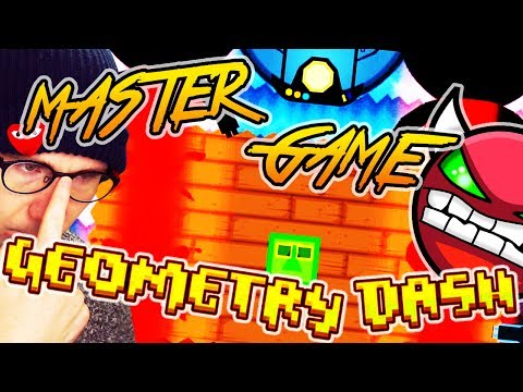 Geometry Dash | MASTERGAME by Serponge ALL QUESTS FULL PLAYTHROUGH 100% (On Stream)