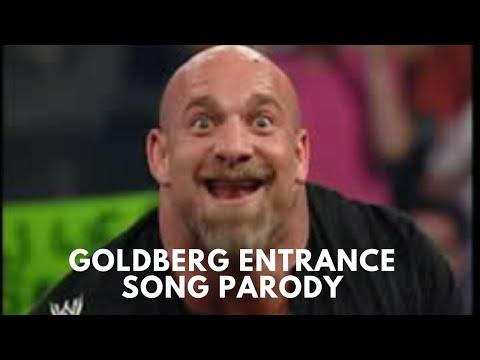 Goldberg Entrance WWE Theme Song Parody  Sportskeeda