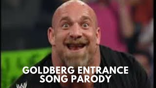 Goldberg Entrance WWE Theme Song Parody | Sportskeeda