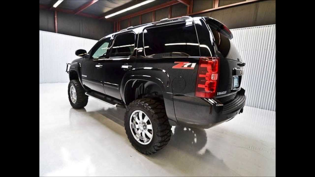 2007 Chevy Tahoe Z71 Lifted Truck For Sale - YouTube