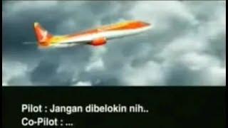 KASIHAN...!!! Transkrip Rekaman Pilot dan Co-Pilot ''Black Box'' Detik-detik Kecelakaan Pesawat