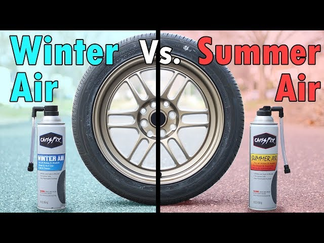 Why it's IMPORTANT to use the Correct Air in Your Tires (Summer & Winter Air)!