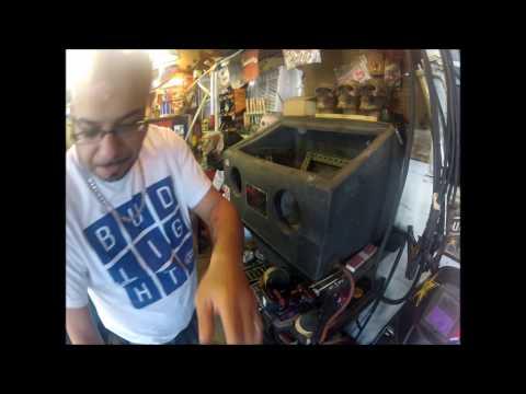 refurbishing the old sandy jet blast cabinet