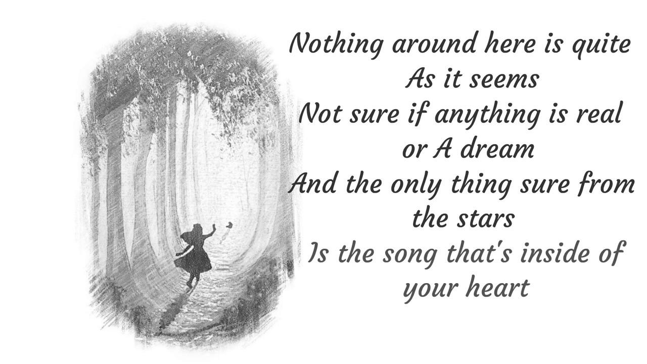 Welcome to Wonderland   Anson Seabra  Animated Lyrics