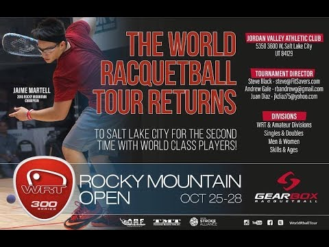 2017 WRT Rocky Mountain Open Quarter Finals Jake Bredenbeck vs. Sudsy Monchik