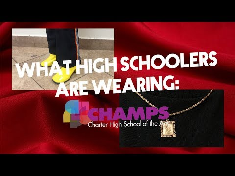 WHAT HIGH SCHOOLERS ARE ACTUALLY WEARING: Los Angeles