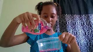 How to make slİme out of hand soap and salt