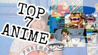 TOP 7 ANIME filmů 👹 podle EASY - Znáš Totora a studio Ghibli? / IceQueen Easy