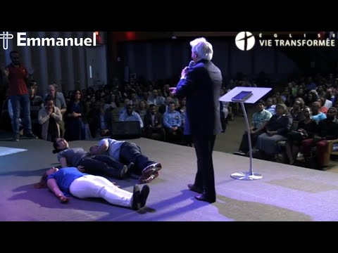 Pastor Benny Hinn at Emmanuel Church, Montreal