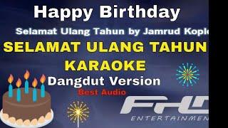 Jamrud - Selamat ulang tahun Karaoke Dangdut Indonesia
