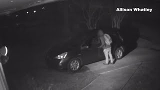 NC couple warns suspect during attempted car break-in: 'We've got you on video!'