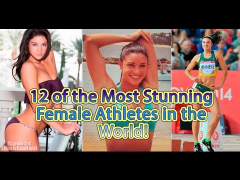 12 of the Most Stunning Female Athletes in the World!