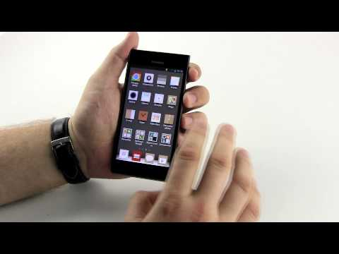 Huawei Ascend P2 - hands on - Komorkomania.pl