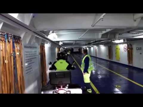 Motor-overtocht DFDS IJmuiden-Newcastle