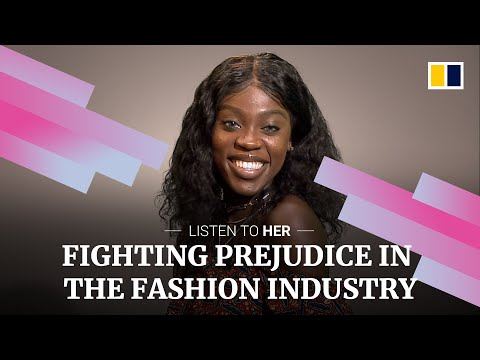 Meet the Congolese model fighting against prejudice in Hong Kong's fashion industry