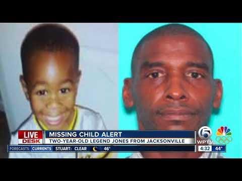 Florida missing child alert issued for 2-year-old Jacksonville boy