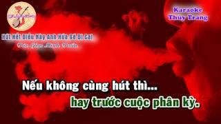 Karaoke - vọng cổ hài - Hút Hết Điếu Này Anh Hứa Sẽ Đi Cai