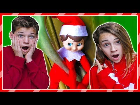 MYSTERY ELF ON THE SHELF Shows Up at Our House | We Are The Davises