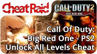 Call Of Duty 2: Big Red One Unlock All Levels Cheat | PS2