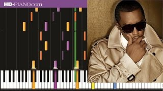 How to play Puff Daddy Shake ya tailfeather   Piano tutotial  100% speed