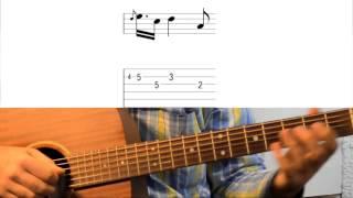 Уроки гитары Ray Charles Hit The Road Jack