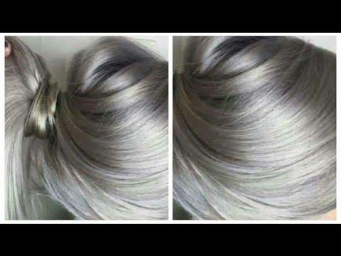 إصبغي الشعر أشقر رمادي فاتح مخضر روعة نصائح مهمة للمبتدئين Youtube