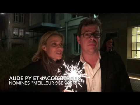Aude Py et Jacob Berger, nominés dans la catégorie « meilleur scénario »
