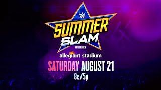 SummerSlam heads to Las Vegas' Allegiant Stadium on Saturday, Aug. 21