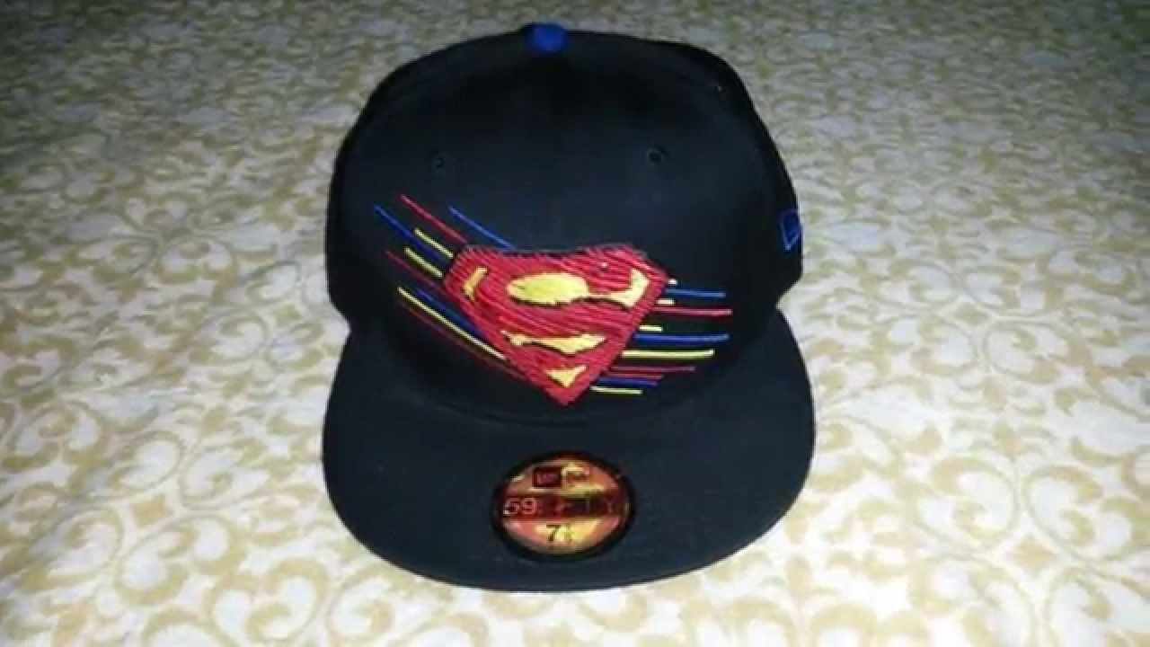 Gorra de Superman DC COMICS x NEW ERA Cap - Monchie Price - YouTube 9a517745ce1