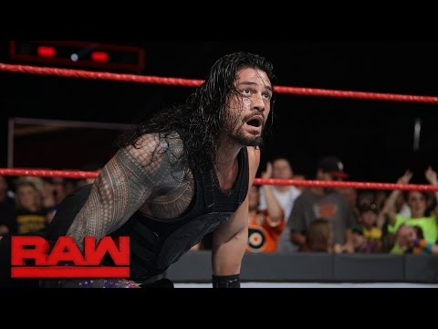Thumbnail: Roman Reigns vs. Chris Jericho - United States Championship Match: Raw, Jan. 2, 2017
