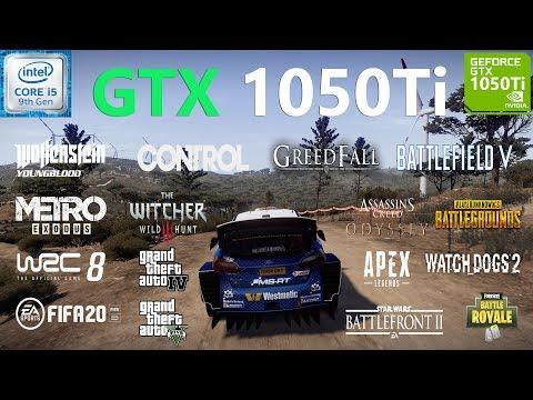 GTX 1050 Ti Test in 20 Games
