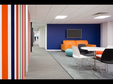 Design & build office refurbishment for West Yorkshire based Cosmetics company