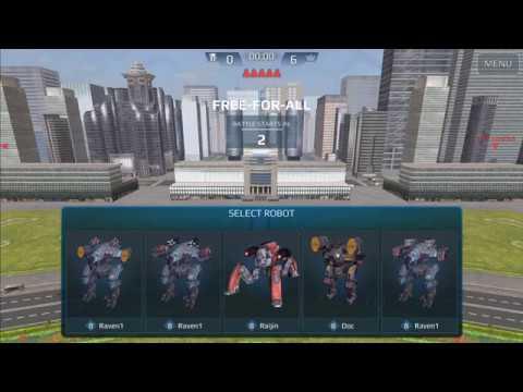 War Robots Test Server Gameplay Part 1