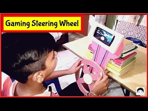 How to Make Gaming Steering Wheel for Any Smartphone