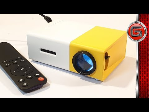 YG 300 LED Mini Projector Home Cinema Review