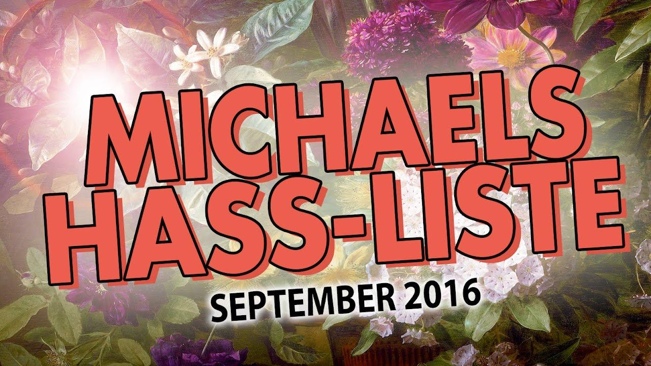 Ich Hasse Angeber! | Michaels Hass Liste Für Den September 2016