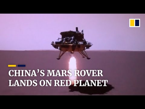China Mars rover Zhu Rong successfully lands on red planet