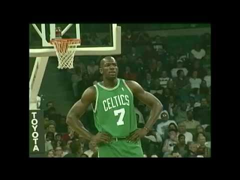 Tony Delk w/ Boston Celtics at Memphis