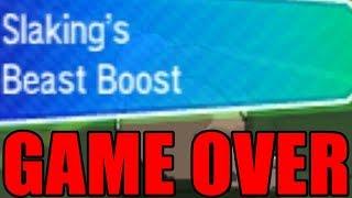 +6 BEAST BOOST SLAKING SWEEPS! Pokemon Ultra Sun and Ultra Moon Battle