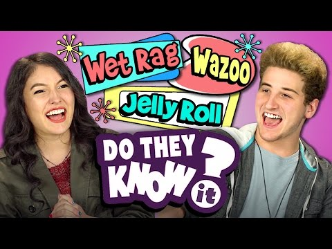 DO TEENS KNOW 50's SLANG? (REACT: Do They Know It)