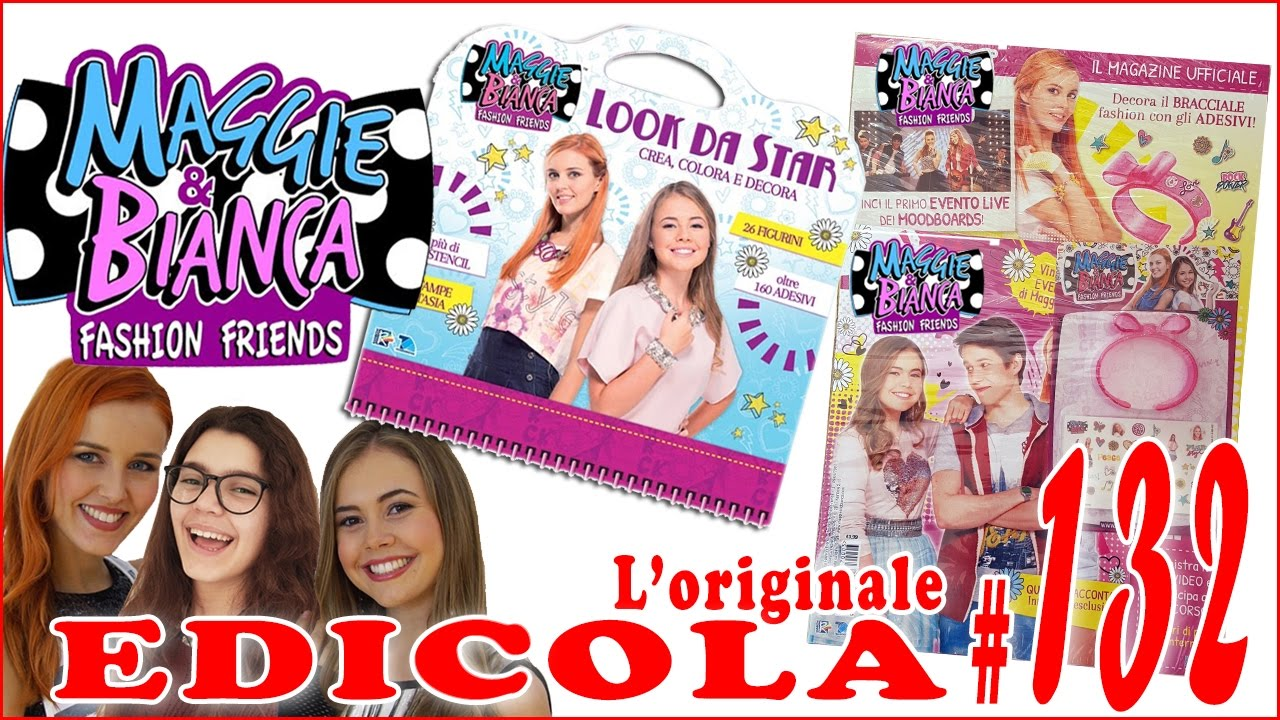 Edicola 132 Maggie E Bianca Look Da Star Magazine By Giulia