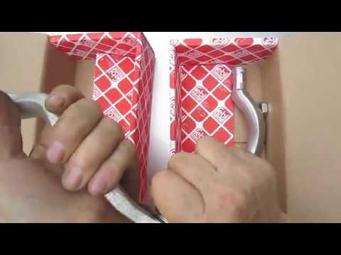 Как смазать наконечники рулевых тяг Рено Логан