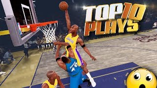 INSANE Top 10 PLAYS Of The Week - NBA 2K18 Ankle Breakers, Dunks, & Buzzer Beaters