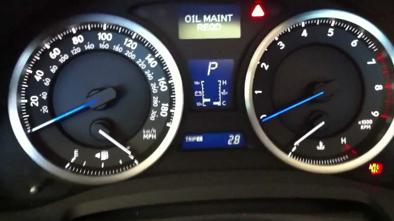 Is250 Is350 Isf Oil Light Reset Youtube